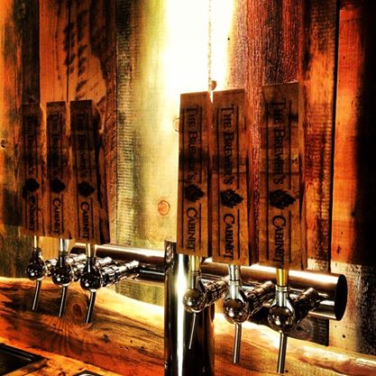 Brewers Cabinet Taps