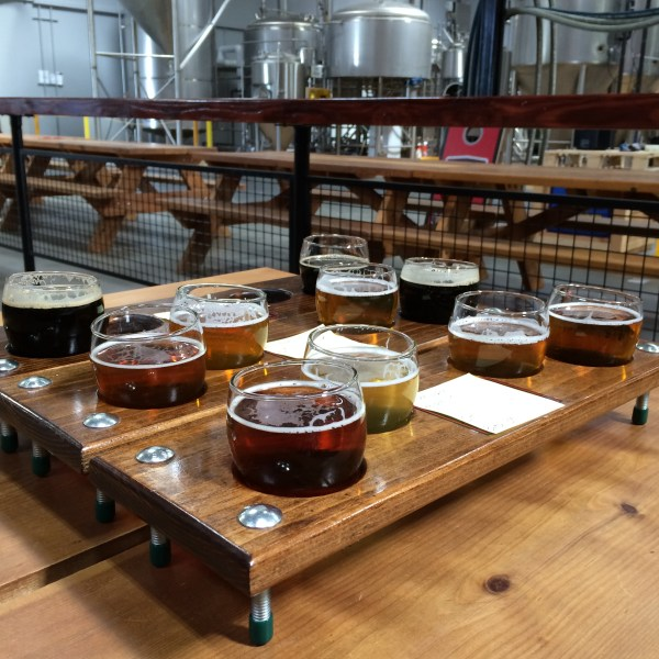 Knee Deep Brewing Co Tasting Flight