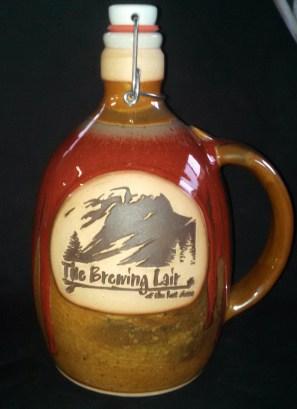 The Brewing Lair growlers by Joe Winter. Photo by Joe Winter.