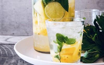 Lemon Ginger Elixir – Mocktail