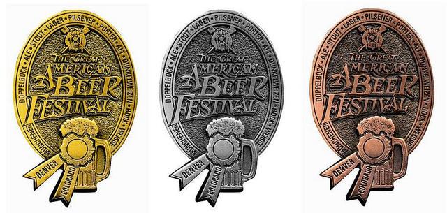Great American Beer Festival Medals