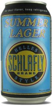 Schlafly Summer Lager can