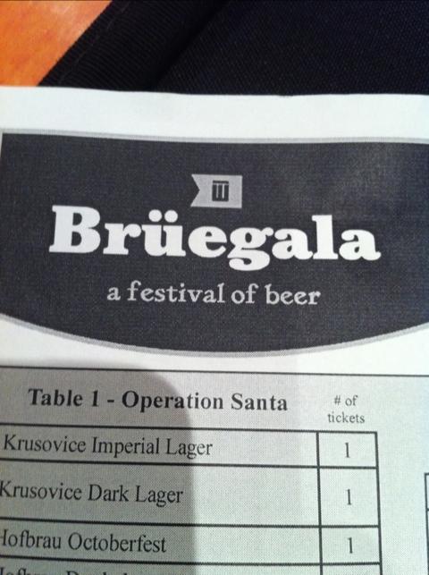 Bruegala beer festival