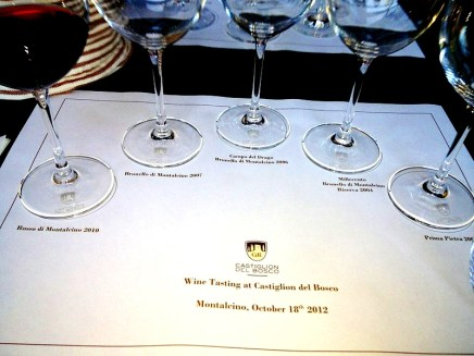 Wine Tasting on our gourmet Tour