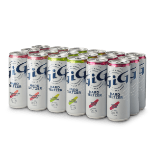 GiG Hard Seltzer Eighteen Pack Compressed