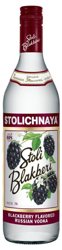Stolichnaya Stoli Blakberi Flavored Vodka