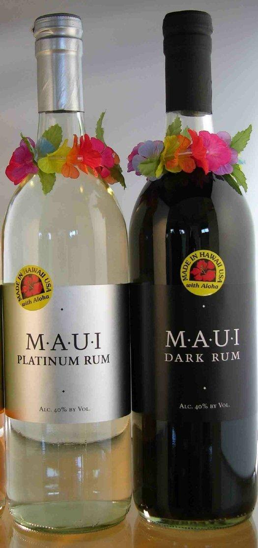 Maui Platinum Rum