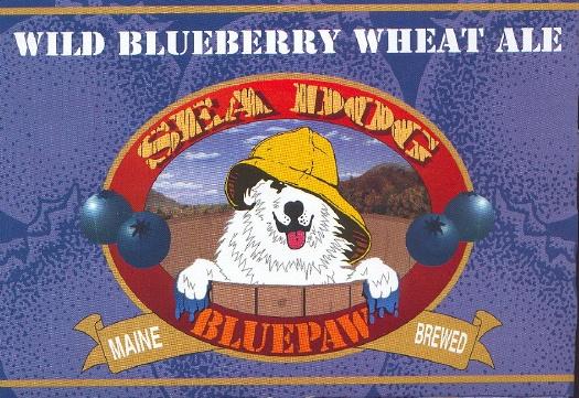 Sea Dog Bluepaw Wild Blueberry Wheat Ale