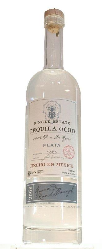 Tequila Ocho Plata 2008, Rancho Carrizal Estate
