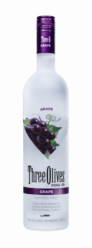 Three Olives Grape Vodka