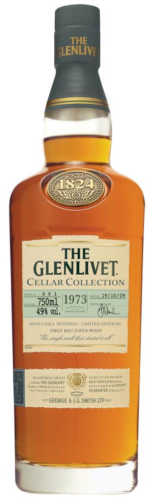 The Glenlivet Cellar Collection 1973