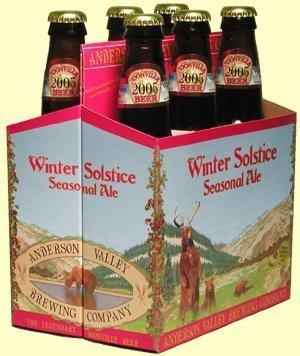 Anderson Valley Brewing Company Winter Solstice Seasonal Ale