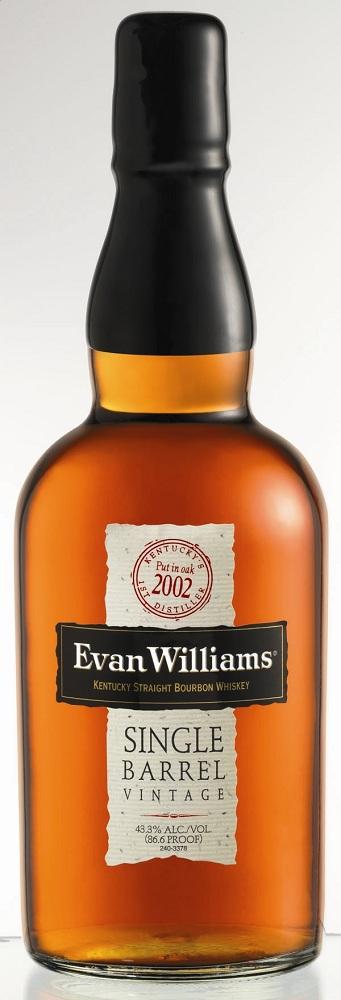 Evan Williams Single Barrel Bourbon 2002 Vintage