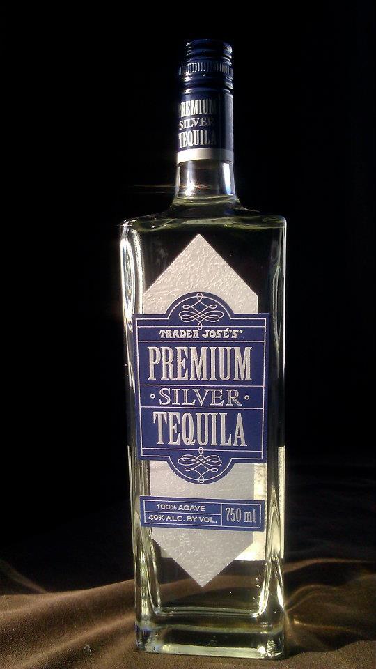 Trader Joe's Silver Tequila