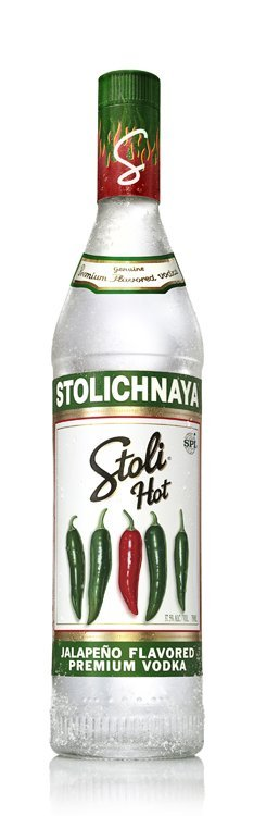 Stoli Hot Jalapeno Flavored Vodka