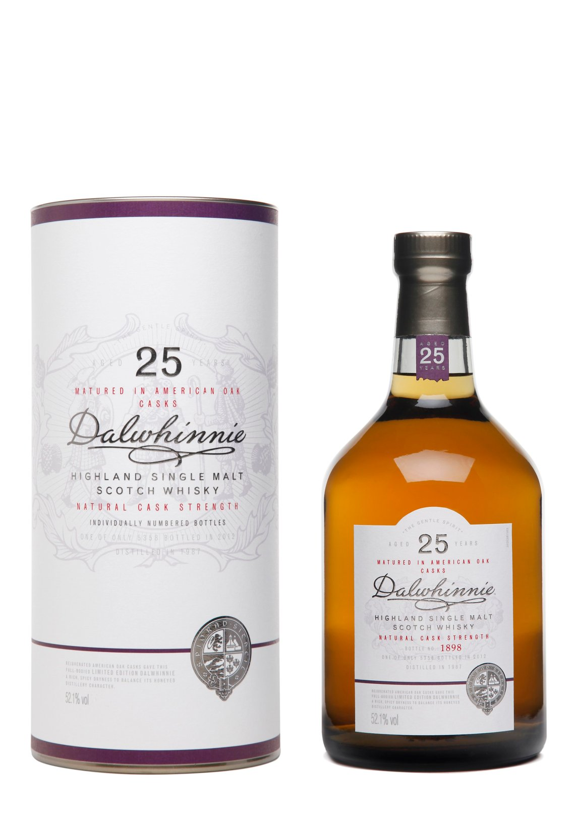 Dalwhinnie 25 Years Old Limited Edition 2012