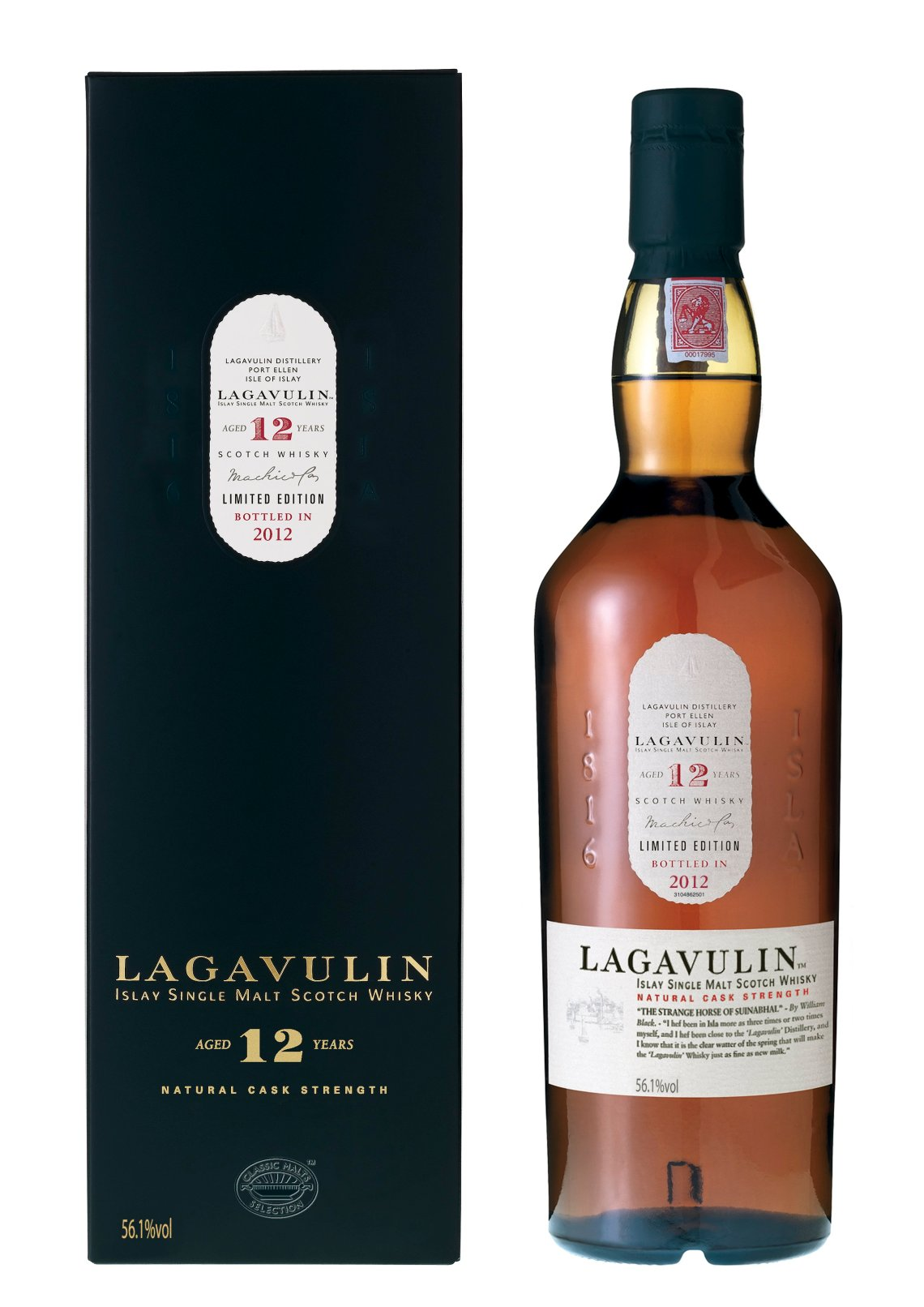 Lagavulin 12 Years Old Limited Edition 2012
