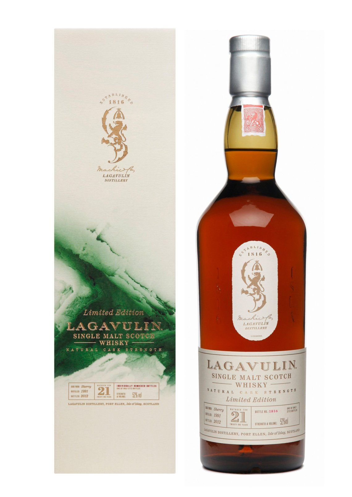 Lagavulin 21 Years Old Limited Edition 2012