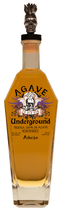 Agave Underground Anejo Tequila