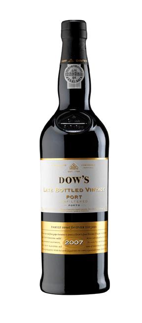 2007 Dow's Late Bottled Vintage Port