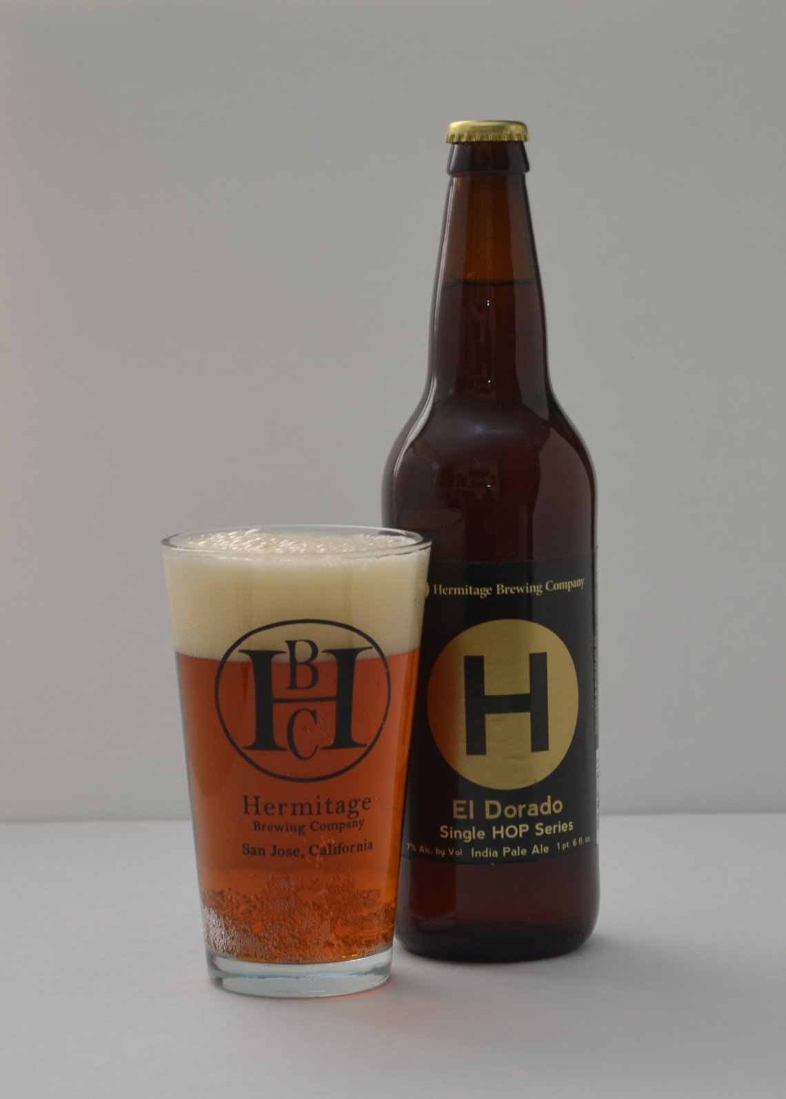 Hermitage Brewing Company India Pale Ale Single Hop Series - El Dorado