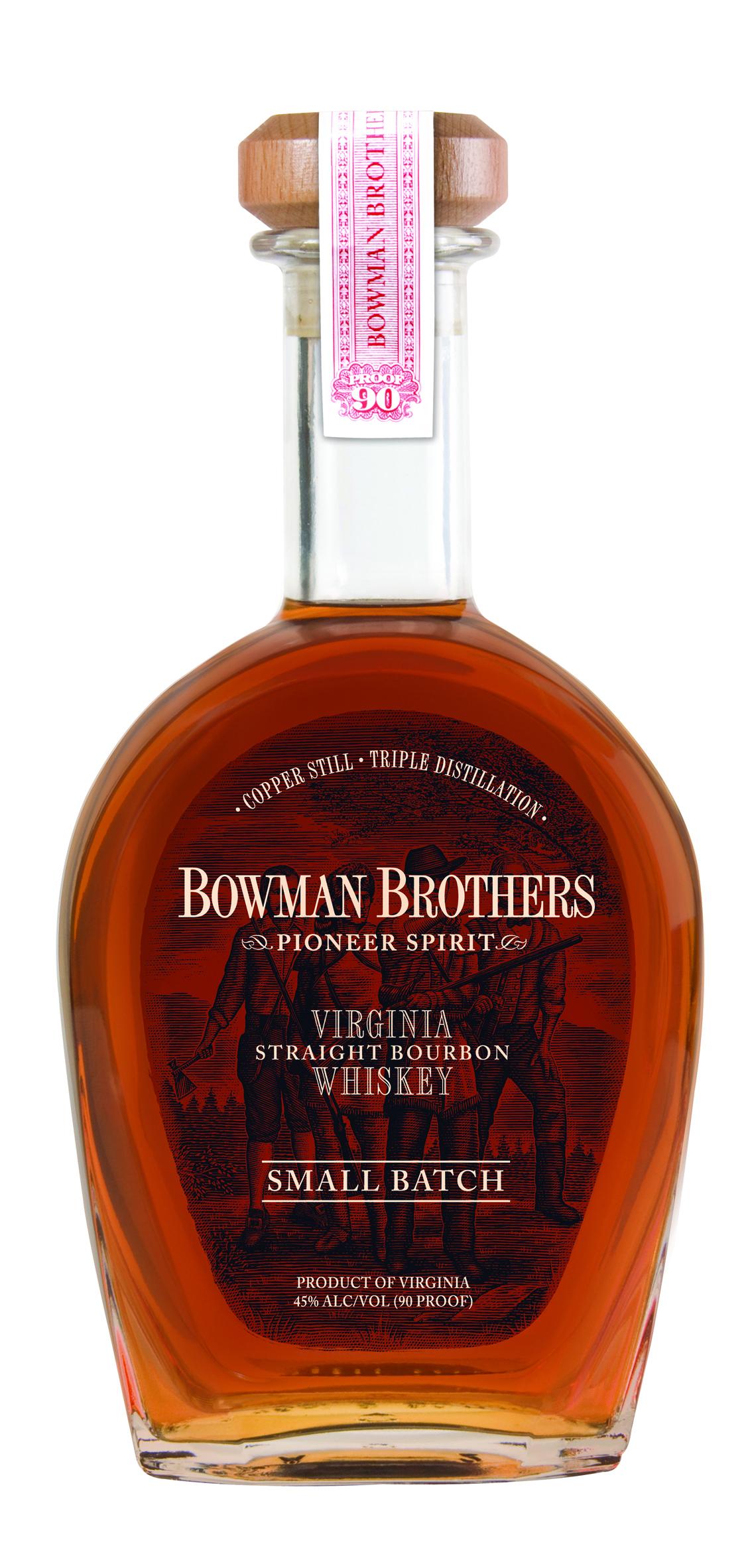 Bowman Brothers Small Batch Virginia Straight Bourbon Whiskey