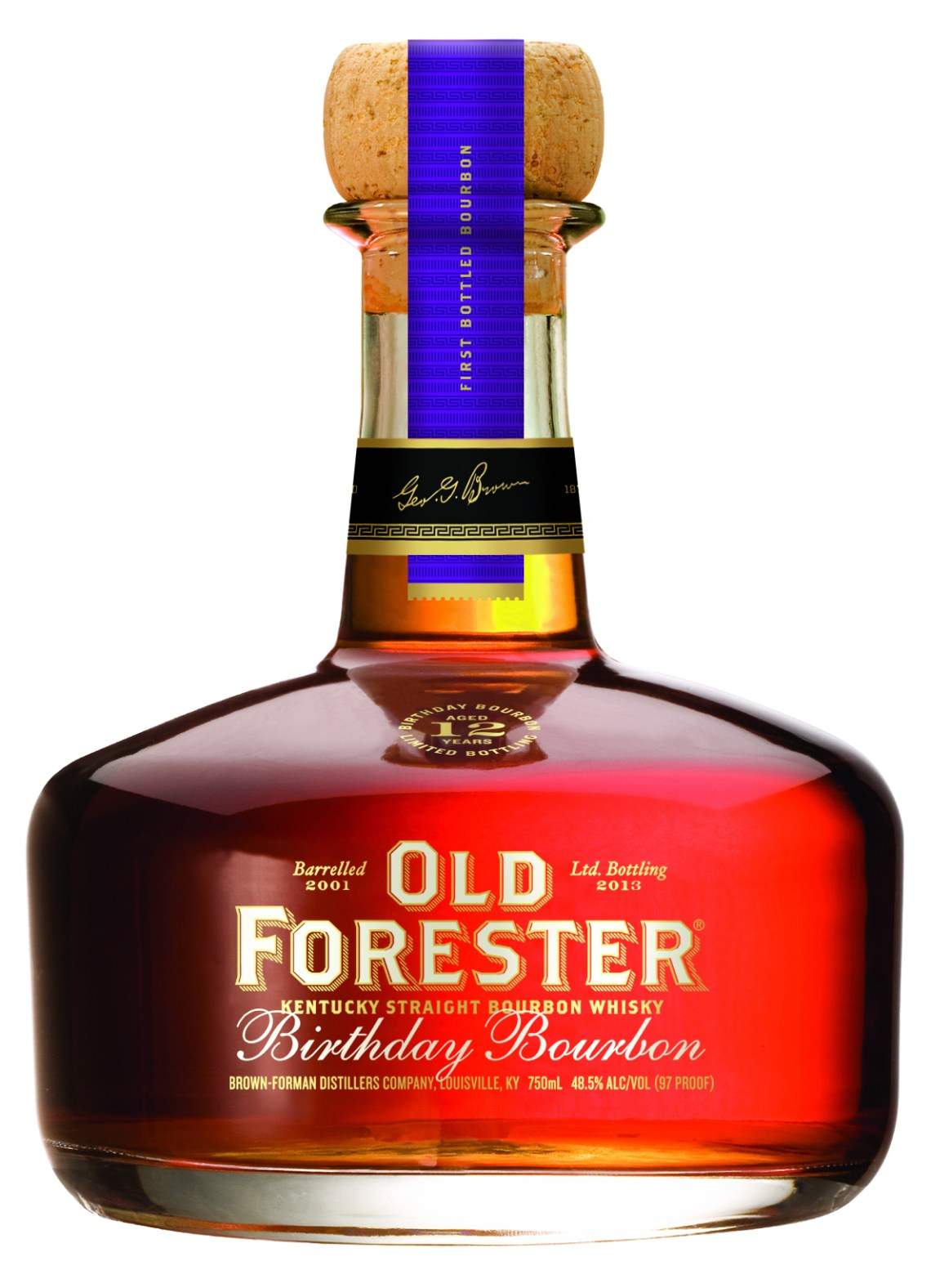 Old Forester Birthday Bourbon 2013 Edition