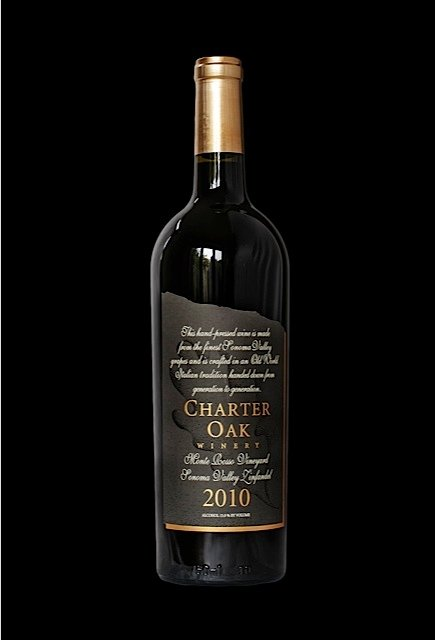 2010 Charter Oak Zinfandel Sonoma Valley Monte Rosso Vineyard