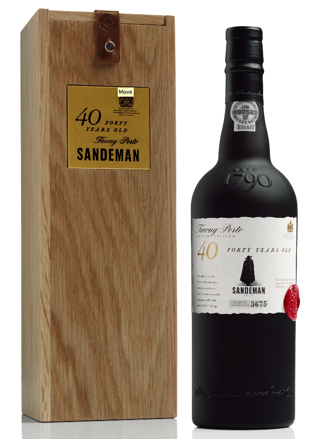 NV Sandeman Tawny Port 40 Years Old