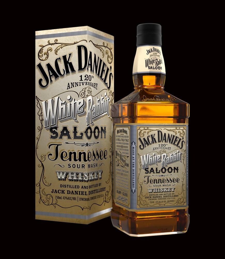Jack Daniel's White Rabbit Saloon Whiskey