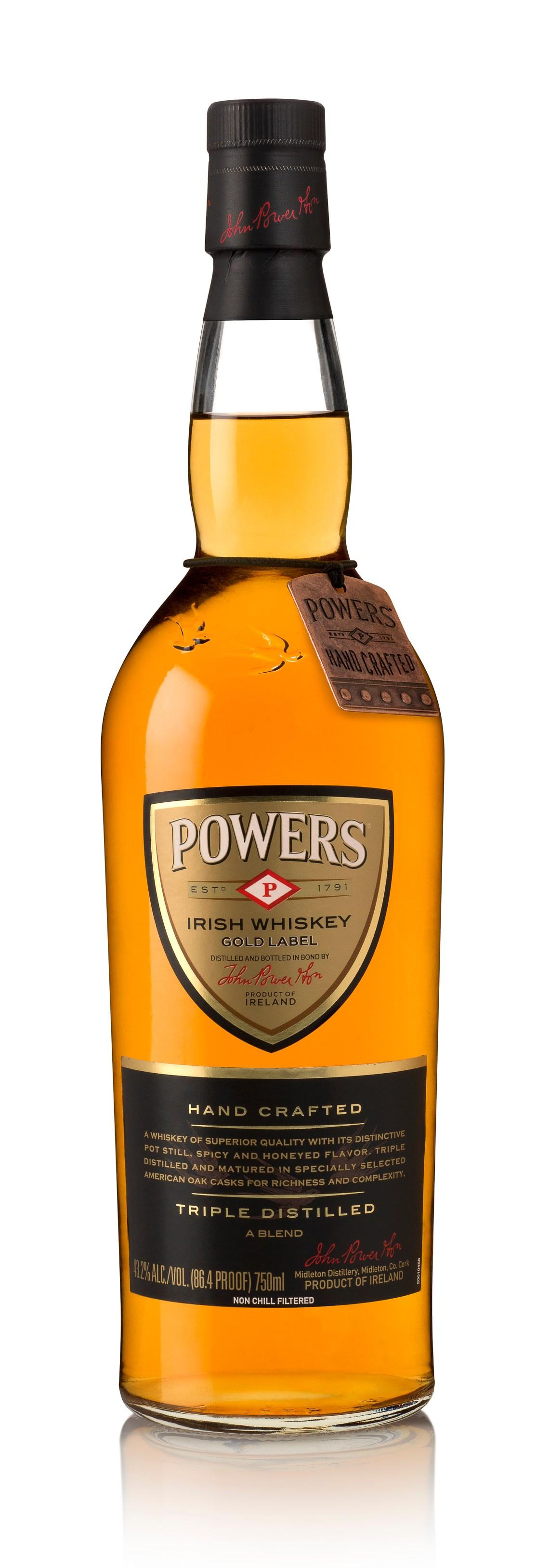 Powers Gold Label Irish Whiskey (2014)