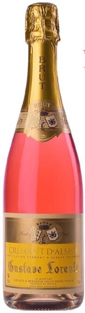 NV Gustave Lorentz Cremant d'Alsace Rose