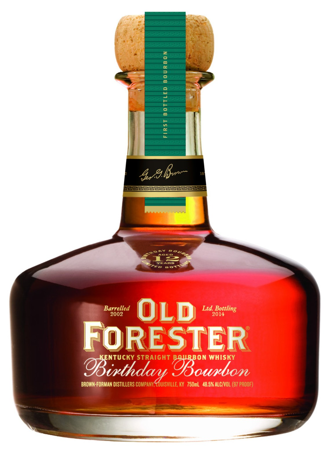 Old Forester Birthday Bourbon 2014 Edition