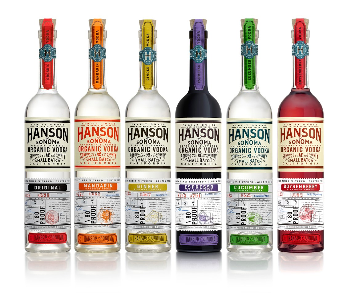 Hanson of Sonoma Vodka