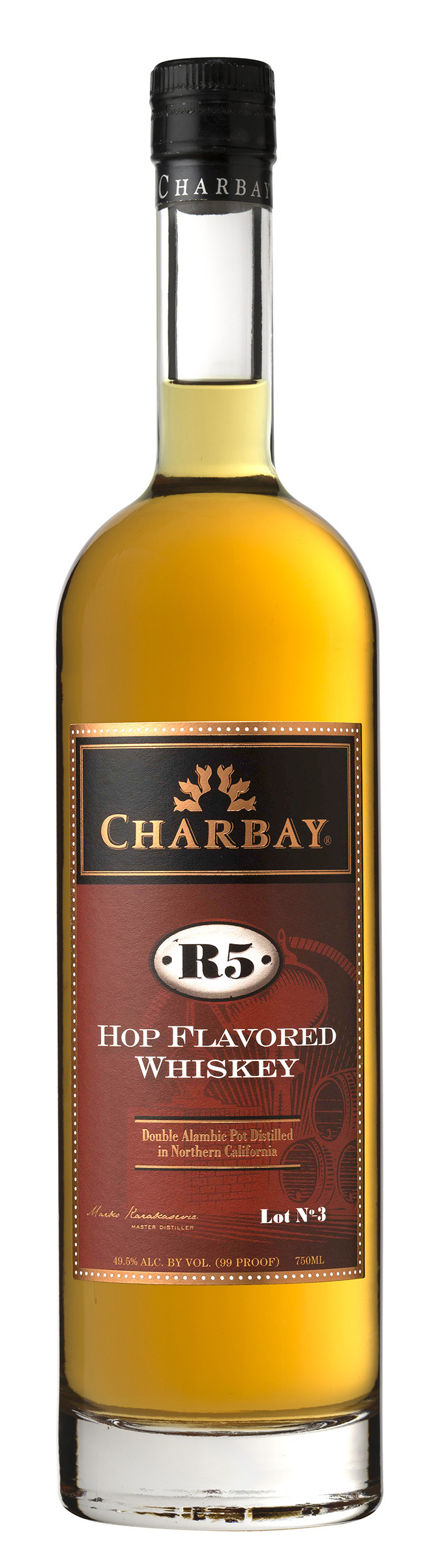Charbay R5 Hop-Flavored Whiskey Lot 3 (2015)