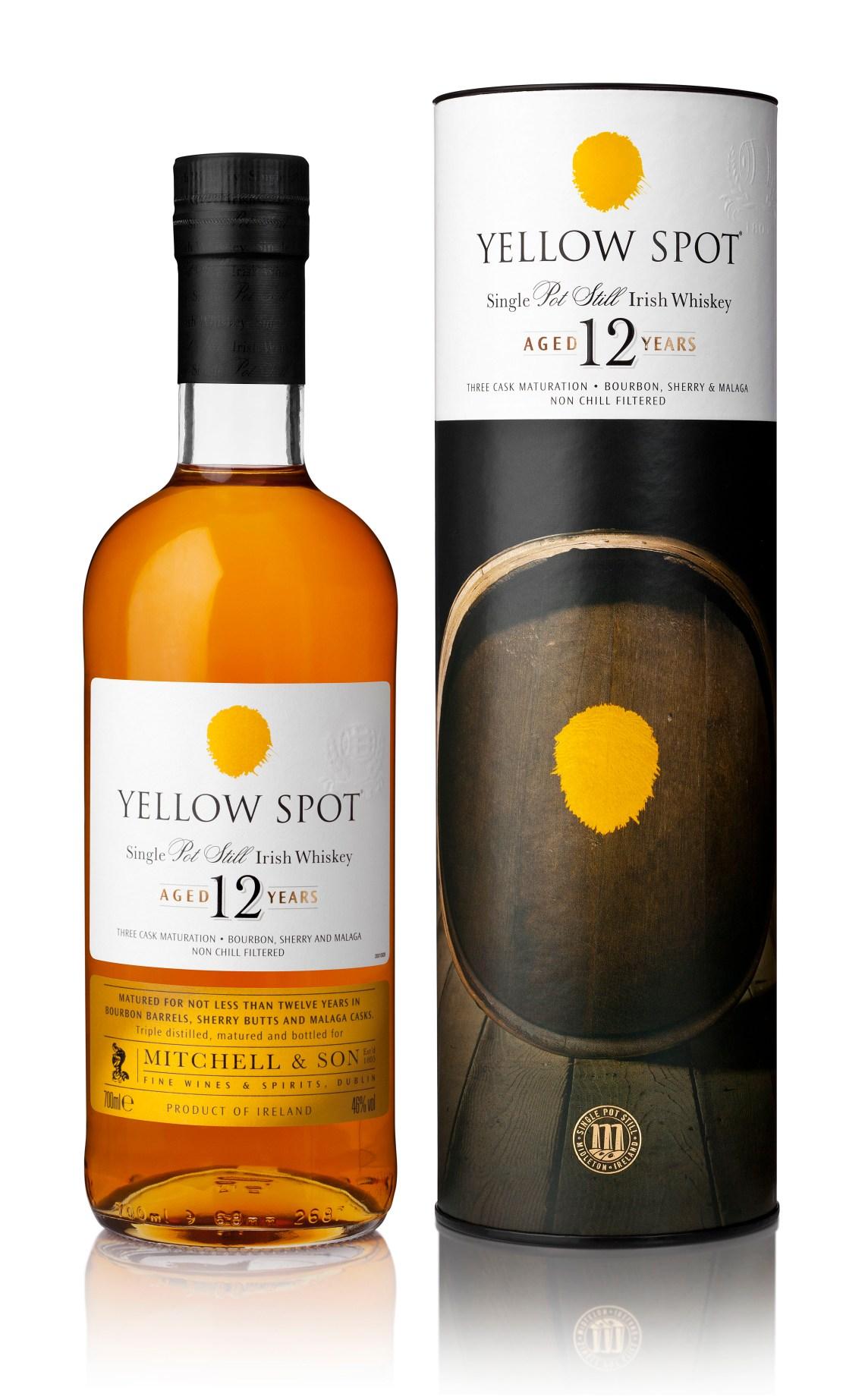 Yellow Spot 12 Years Old Single Pot Still Irish Whiskey