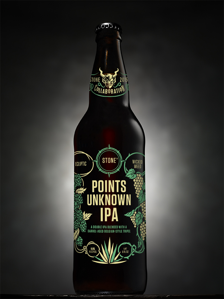 Ecliptic/Wicked Weed/Stone Points Unknown IPA