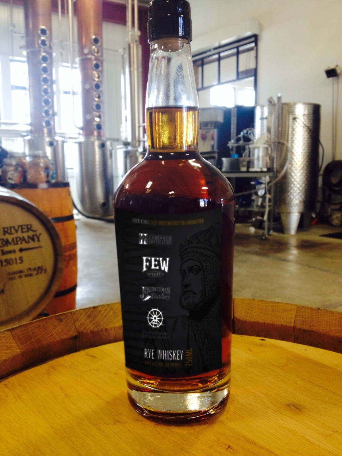 Four Kings Rye 2015 Craft Collaboration