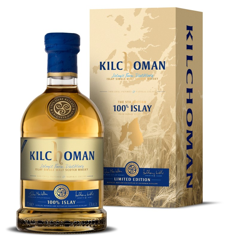 Kilchoman 100% Islay Fifth Release