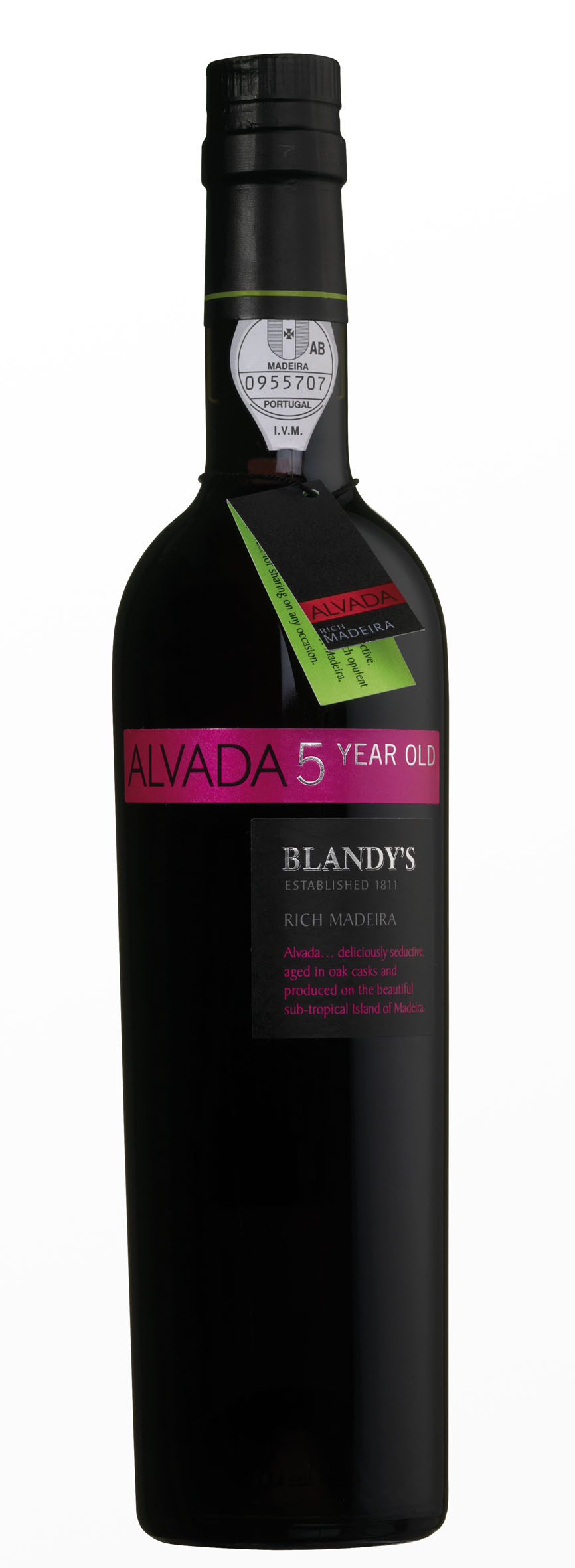 NV Blandy's Rich Madeira Alvada 5 Years Old