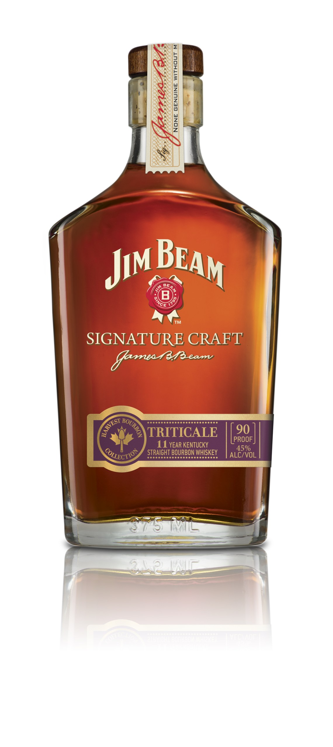 Jim Beam Signature Craft Harvest Bourbon Collection Triticale