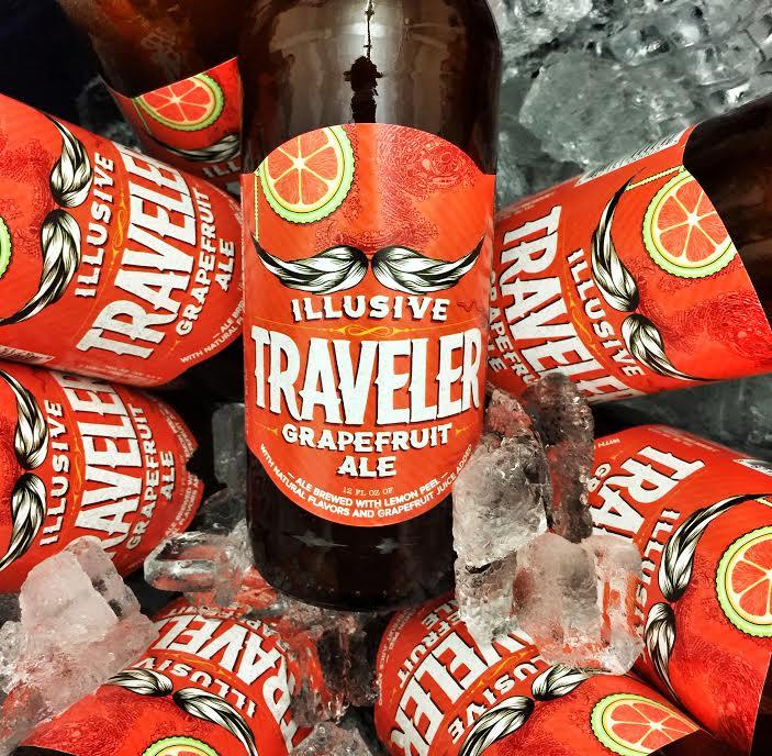 The Traveler Beer Co. Illusive Traveler Grapefruit Shandy