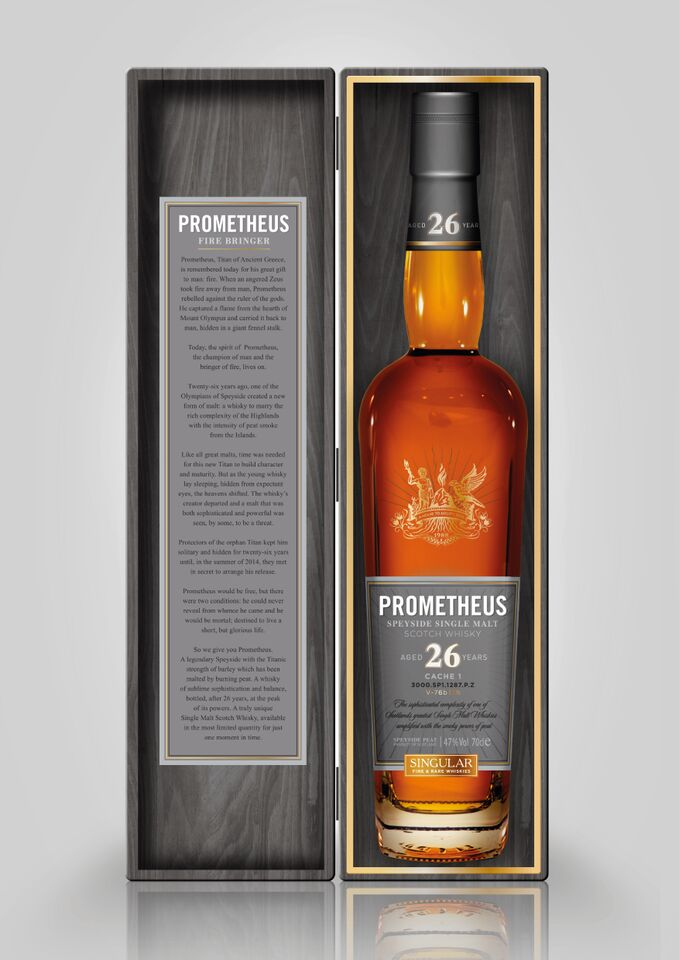 Glasgow Distillery Co. Prometheus 26 Years Old