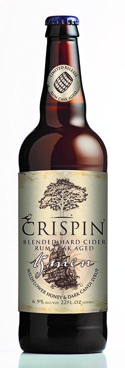 """Crispin """"15 Men"""" Blended Hard Cider Rum Cask Aged"""