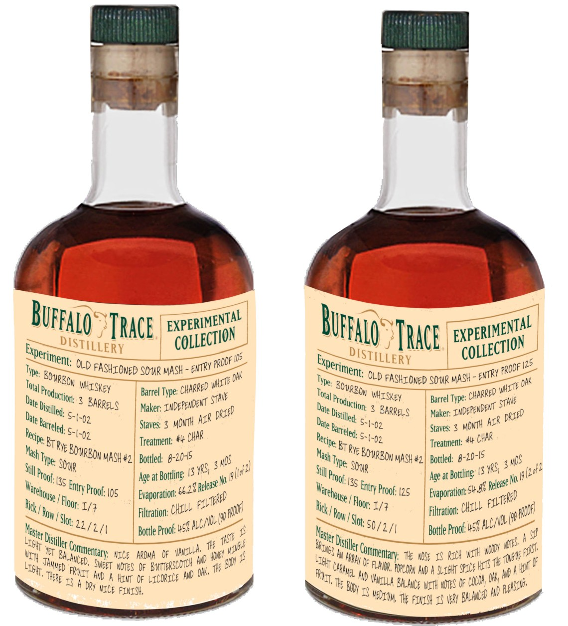 Buffalo Trace Experimental Collection – Old Fashioned Sour Mash 13 Years Old 125 Entry Proof