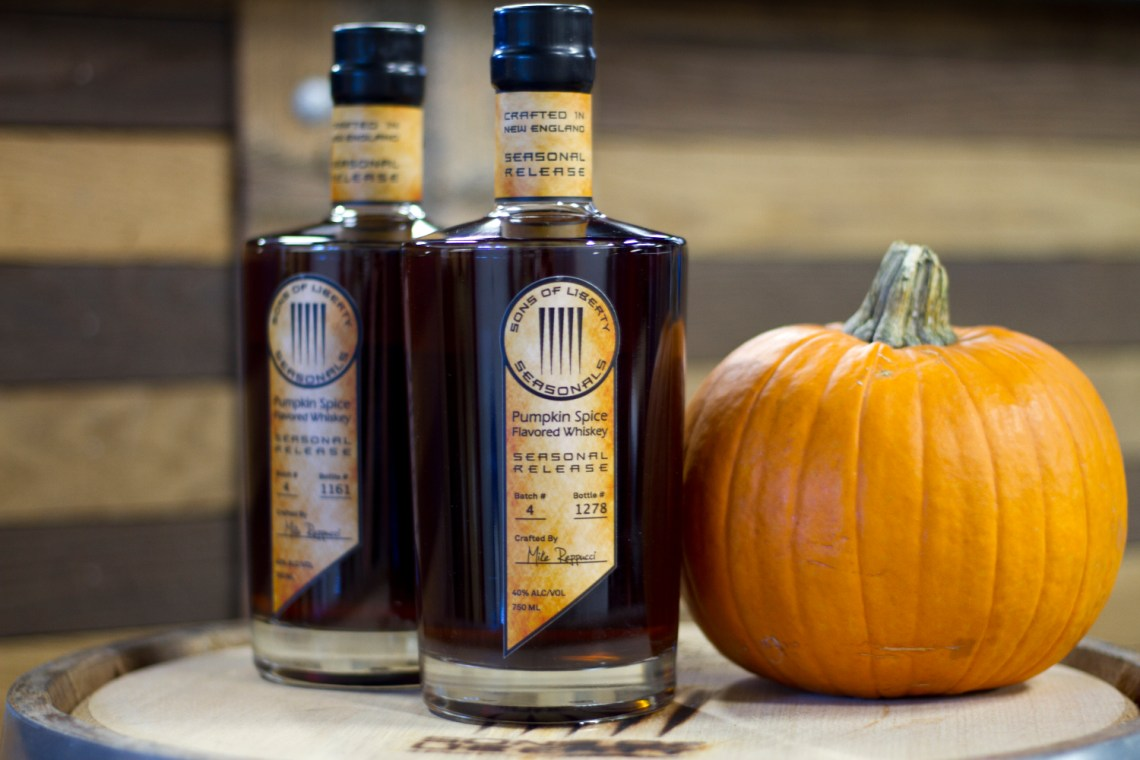 Sons of Liberty Pumpkin Spice Flavored Whiskey (2015)