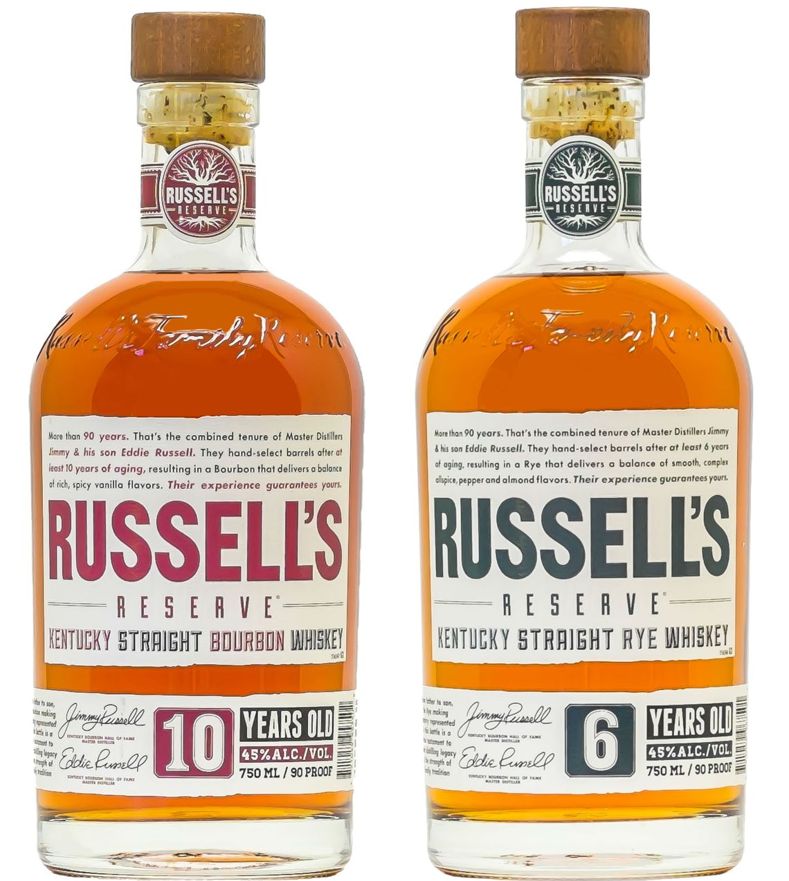 Russell's Reserve Small Batch Kentucky Straight Rye 6 Years Old (2016)