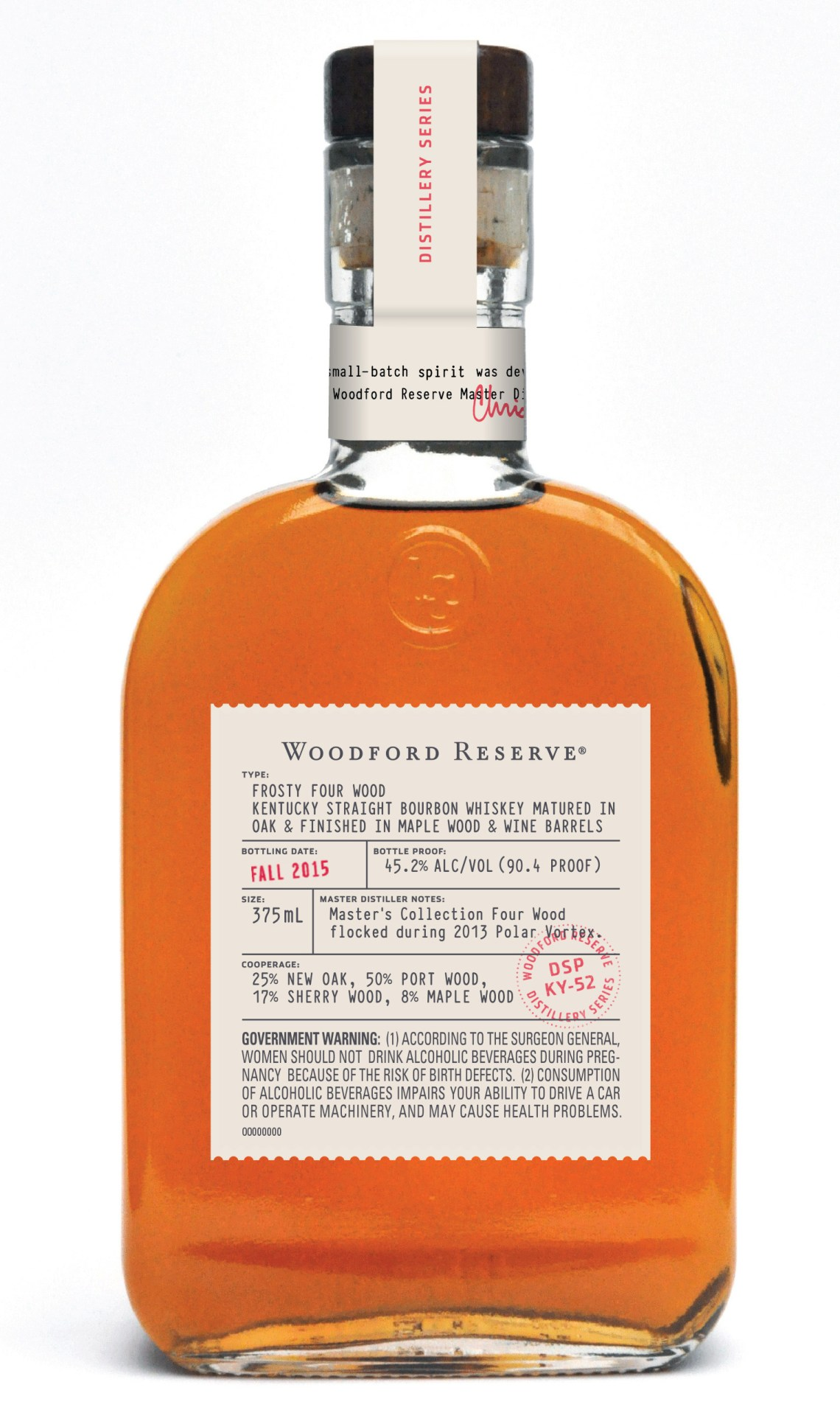 Woodford Reserve Distillery Series – Frosty Four Wood