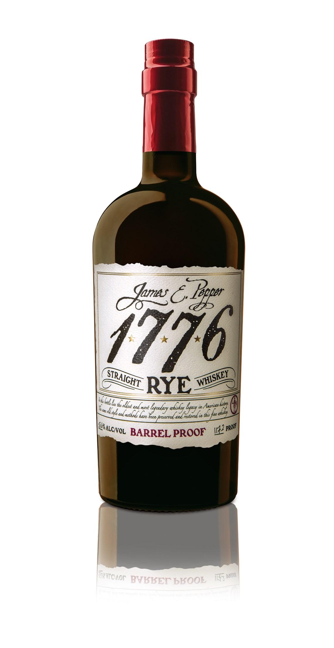 James E. Pepper 1776 Straight Rye Barrel Proof