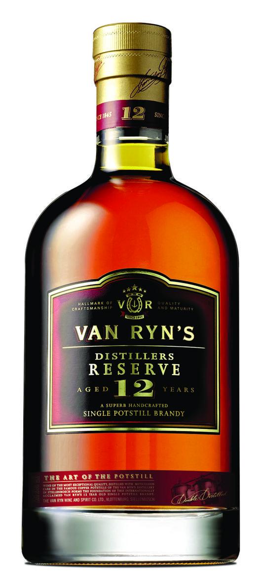 Van Ryn's Distillers Reserve Brandy 12 Years Old